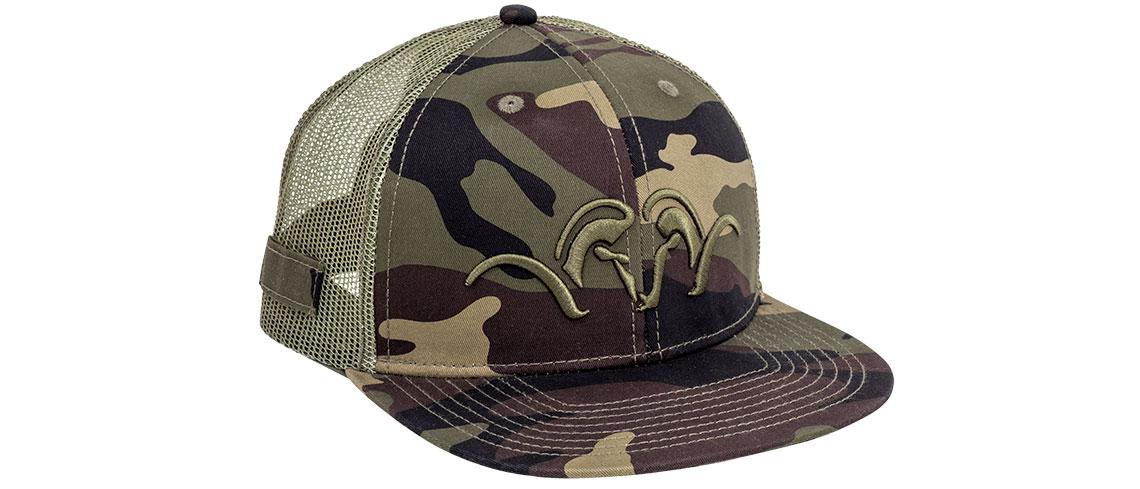Mesh - Snapback Cap - Camouflage