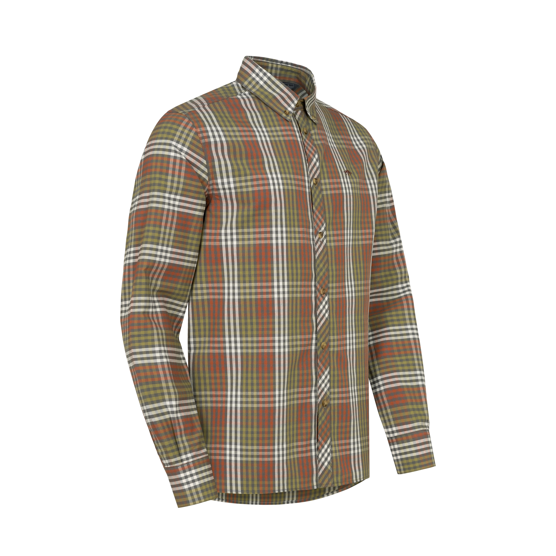 Lambert - Linnen Shirt - Grey Chequered