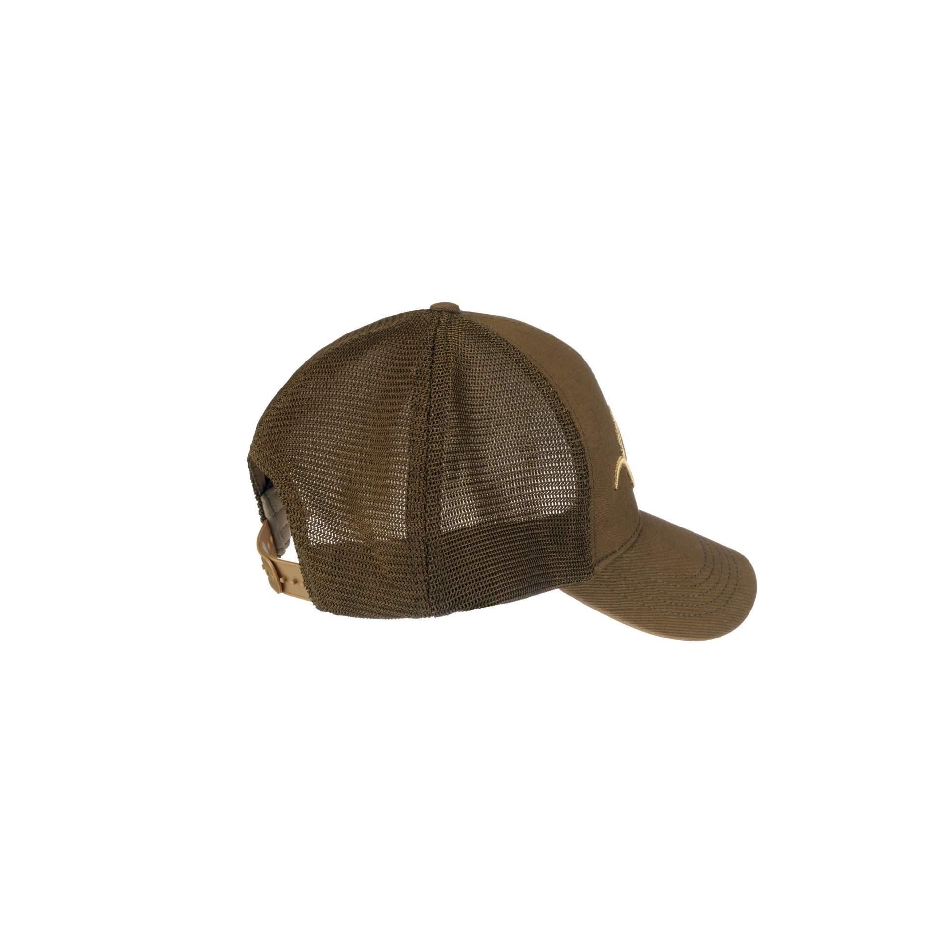 Mesh - Snapback Cap - Brown